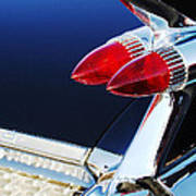 1959 Cadillac Eldorado Taillight -075c Art Print