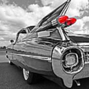 1959 Cadillac Tail Fins Art Print