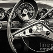 1959 Chevrolet Dash Art Print