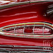 1959 Chevrolet Taillight Art Print