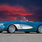 1959 Corvette Fuel Injected Art Print