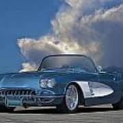 1959 Corvette Roadster 1 Art Print