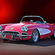 1959 Corvette Roadster 2 Art Print