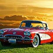 1959 Corvette Roadster Art Print