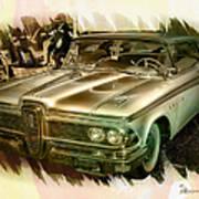 1959 Edsel Art Print