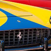 1959 Ferrari 250 Gt Coupe Grille Emblems Art Print