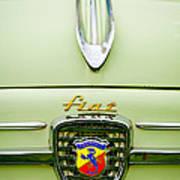 1959 Fiat 600 Derivazione 750 Abarth Hood Ornament Art Print