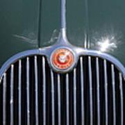 1959 Jaguar Xk150 Dhc 5d23300 Art Print by Wingsdomain Art and Photography