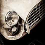 1960 Ac Aceca Grille Emblem -0058s Art Print