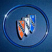 1960 Buick Lesabre Series 4400 Convertible Emblem Art Print