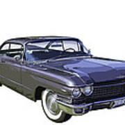 1960 Cadillac - Classic Luxury Car Art Print
