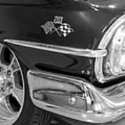 1960 Chevrolet Bel Air Bw 012315 Art Print