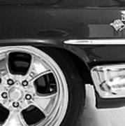 1960 Chevrolet Bel Air Bw2 012315 Art Print