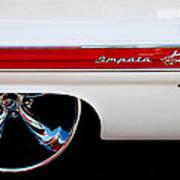 1960 Chevrolet Impala Art Print by David Patterson