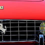 1960 Ferrari 250 Gt Cabriolet Pininfarina Series II Grille Emblem Art Print