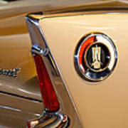 1960 Plymouth Fury Convertible Taillight And Emblem Art Print