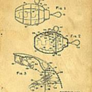 1960s Toy Hand Grenade Art Print