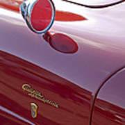 1961 Alfa Romeo Giulietta Sprint Speciale Emblem Art Print