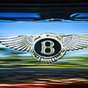 1961 Bentley S2 Continental - Flying Spur - Emblem Art Print