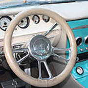 1961 Buick Two Door Sedan Dashboard Art Print
