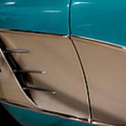 1961 Chevrolet Corvette Art Print