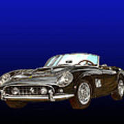 1961 Ferrari 250 G T California Art Print