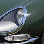 1961 Jaguar Xke Roadster 5d23322 Art Print