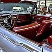 1961 Lincoln Continental Interior Art Print