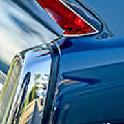 1962 Cadillac Deville Taillight Art Print