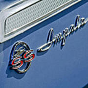 1962 Chevrolet Impala Emblem Art Print