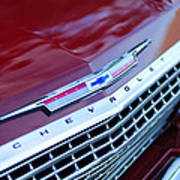 1962 Chevrolet Impala Ss Grille Art Print