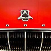 1962 Dodge Polara 500 Emblem Art Print