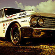 1962 Ford Galaxie 500 Print by Phil 'motography' Clark