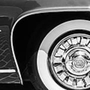 1962 Ghia L6.5 Coupe Wheel Emblem Art Print