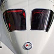 1963 Chevrolet Corvette Split Window -399c Art Print