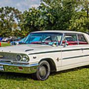 1963 Ford Galaxie 500xl Hardtop Art Print