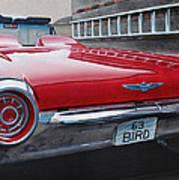 1963 Ford Thunderbird Art Print