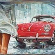 1963 Porsche 356 C Art Print