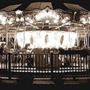 1964 Allan Herschell Carousel Art Print