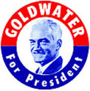 1964 Goldwater For President Art Print