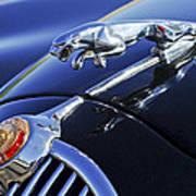 1964 Jaguar Mk2 Saloon Art Print