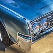 1964 Lincoln Continental Convertible  Art Print