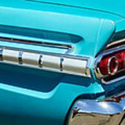 1964 Mercury Comet Taillight Emblem Art Print