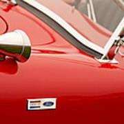 1964 Shelby Cobra 289 Street Roadster Emblem Art Print