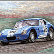 1964 Shelby Daytona Art Print