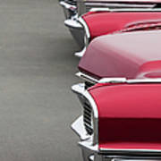 1965 Cadillac Deville Convertible Coupe Art Print