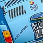 1965 Fiat Taillight Art Print