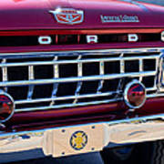 1965 Ford American Lafrance Fire Truck Art Print