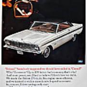 1965 Ford Falcon Ad Art Print