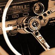 1965 Ford Mustang  Art Print